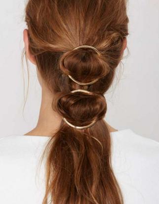 Nasty Gal circle hair pin