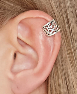 Forever 21 etched ear cuff set