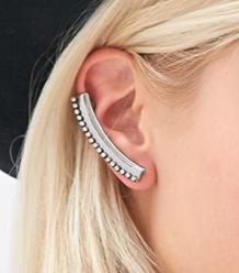 Forever 21 silver ear cuff