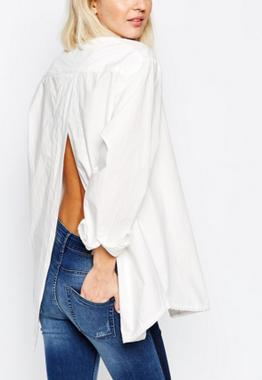 Cheap Monday open back blouse