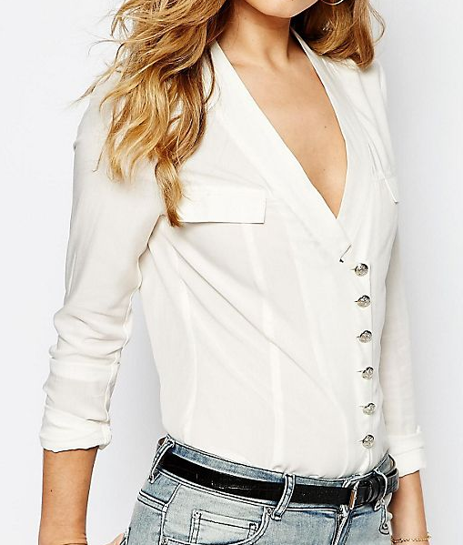 Supertrash Bossa Blouse with Silver Buttons