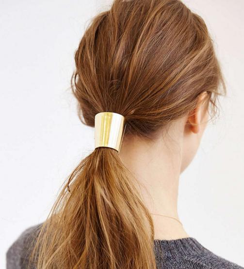 metal ponytail holder