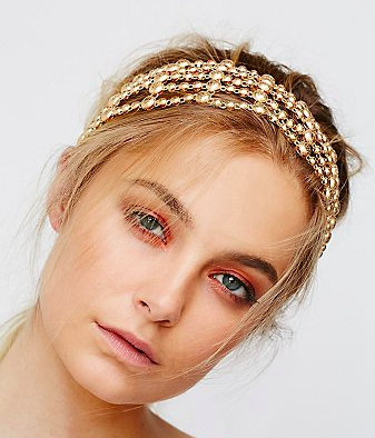 FP metal mesh headband