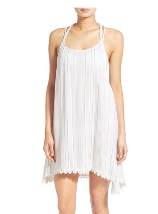 Rip Curl 'City Lights' Racerback Cover-Up Dress
