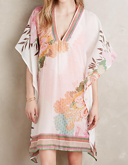 Anthropologie inna kaftan cover up