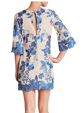 Dress the Population floral dress
