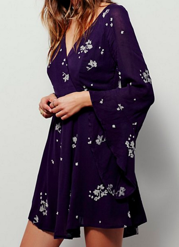 FP Jasmine Embroidered Dress