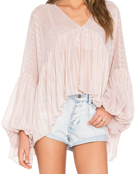 V NECK TOP WILDFOX COUTURE