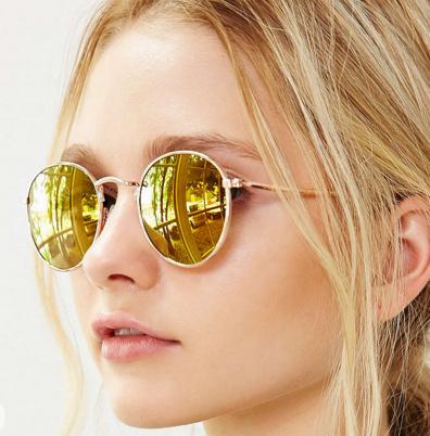 Uo round metal sunglasses