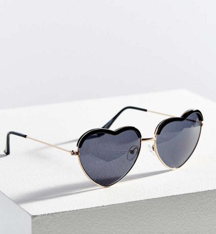 Kendall Heart Frame Sunglasses