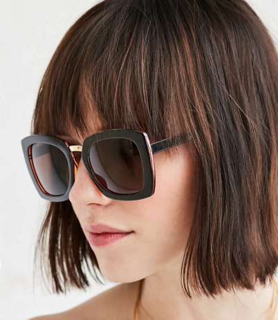 Kerry Boxy Square Sunglasses