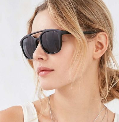 UO Sport Plastic Aviator Sunglasses