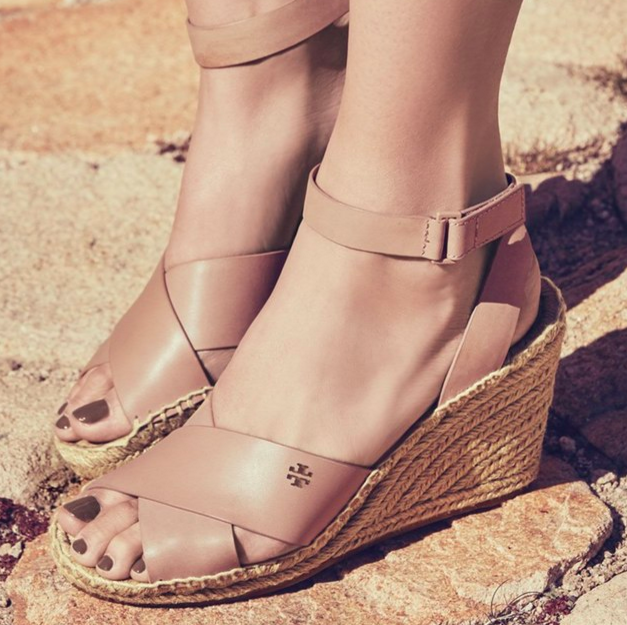 Tory Burch 'Bima' Espadrille Wedge