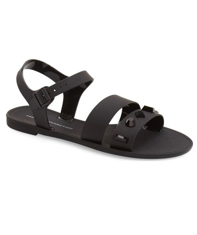 French Connection 'Juno' Studded Jelly Sandal