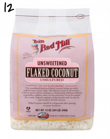 Bob's Red Mill Coconut Flakes Unsweetened