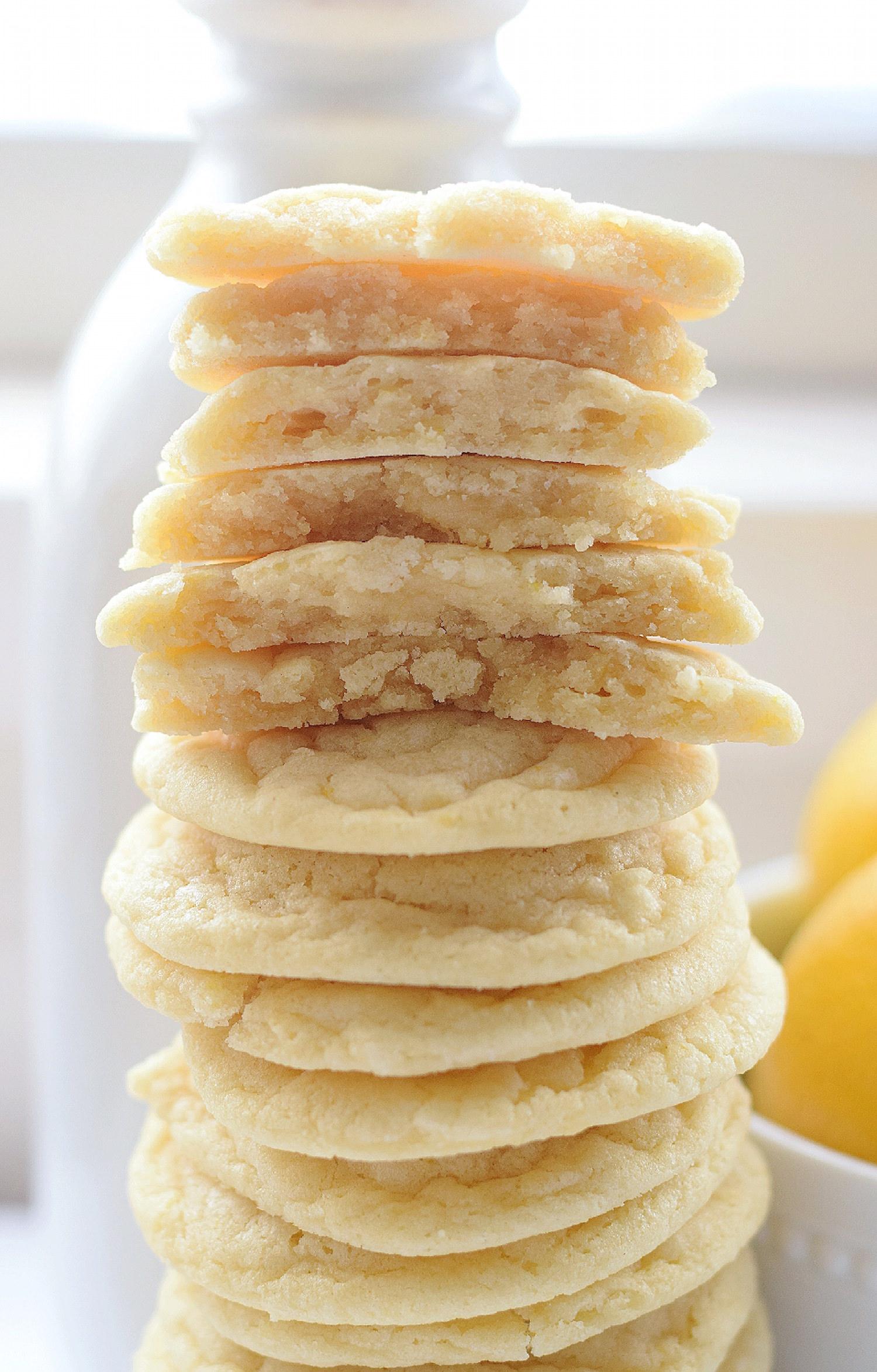 No-Butter Soft Lemon Cookies