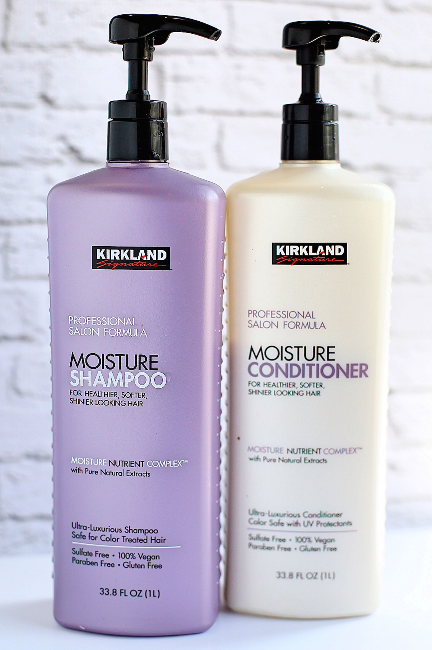 My 10 New Favorite Beauty Products - Kirkland Shampoo and Conditioner | TrufflesandTrends.com