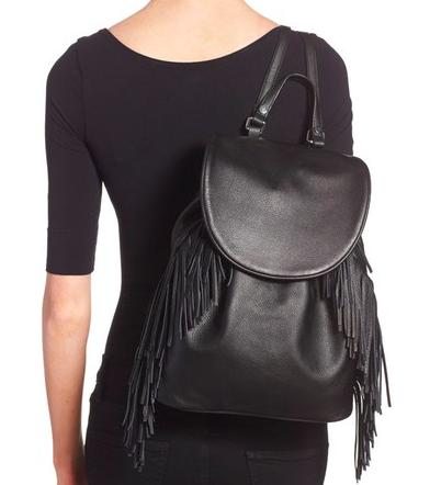 Sam Edelman 'Fifi' Fringe Backpack