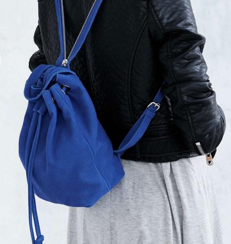 Silence + Noise Carmen Suede Mini Backpack