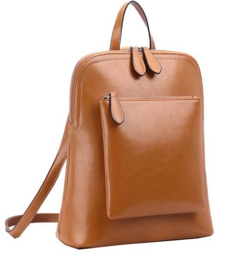 HESHE Women's Vintage Backpack Casual Daypack
