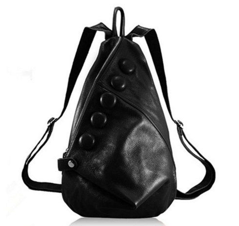 Pinshang Leather Backpack