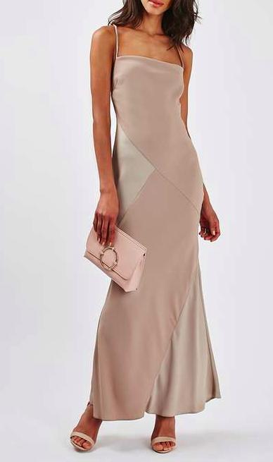 Topshop maxi slip dress