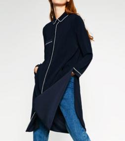 Zara pajama overshirt