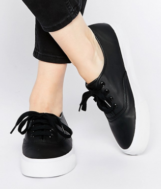 ASOS DIXIE Lace Up Sneakers