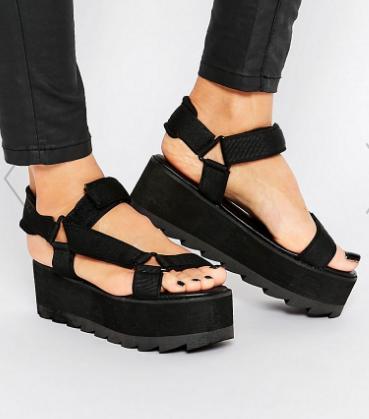 YRU Pulse Lo Flatform Sandals
