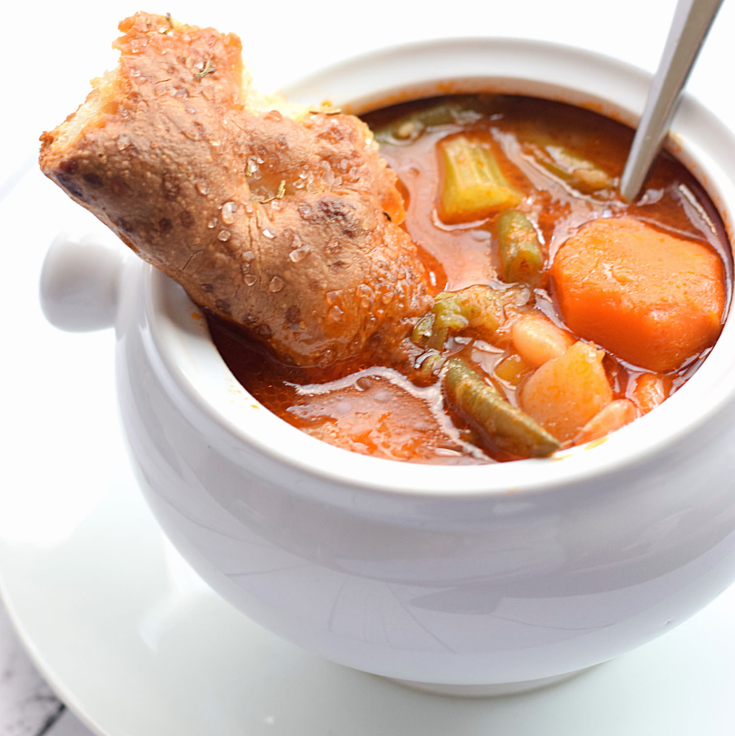 The Best Vegetable Soup Ever | TrufflesandTrends.com