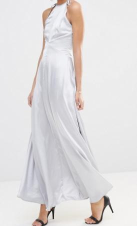 Vero Moda Satin Maxi Dress