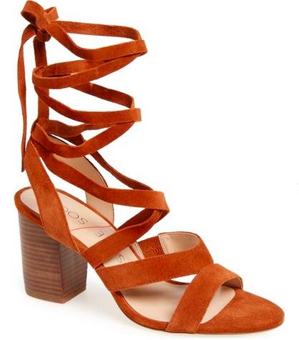Sole Society 'Lyla' Lace-Up Sandal
