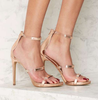 Nasty Gal In for the Thrill Strappy Heel