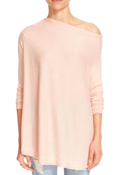 Free People blush sweater