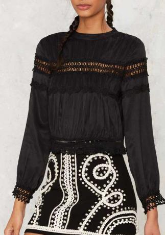 Clemence Crochet Blouse