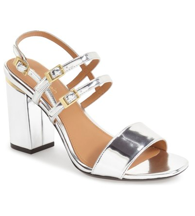Calvin Klein 'Caisiey' Block Heel Sandal