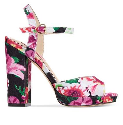 Betsey Johnson   Isla Two-Piece Platform Sandals