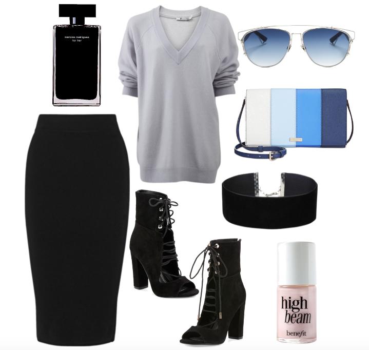 One Midi Skirt, Styled 3 Ways   TrufflesandTrends.com