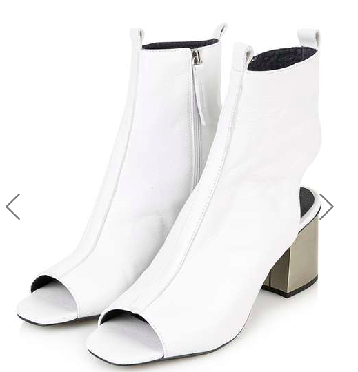 MARRY-ME Flared Peep Boot