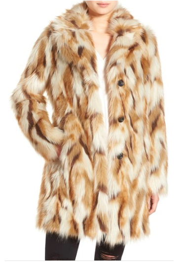 7 For All Mankind® 7 for All Mankind Faux Fur Coat