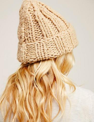 Back to Basics Chunky Knit Beanie