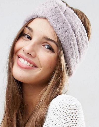 ASOS Fluffy Knit Headband
