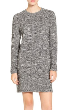 Volcom 'What If I Want' Cotton Sweater Dress
