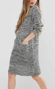 QED London Sweater Dresses with Front Pockets