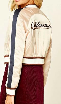 Forever 21 California Varsity Jacket