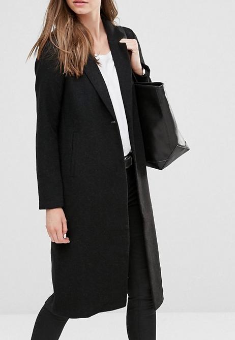 Only Maxi Long Wool Coat