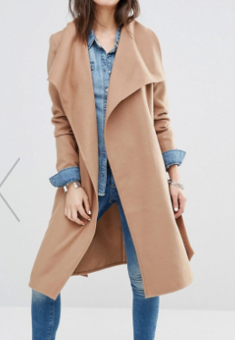 Only Soft Wrap Coat