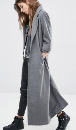 Religion Maxi Wool Coat