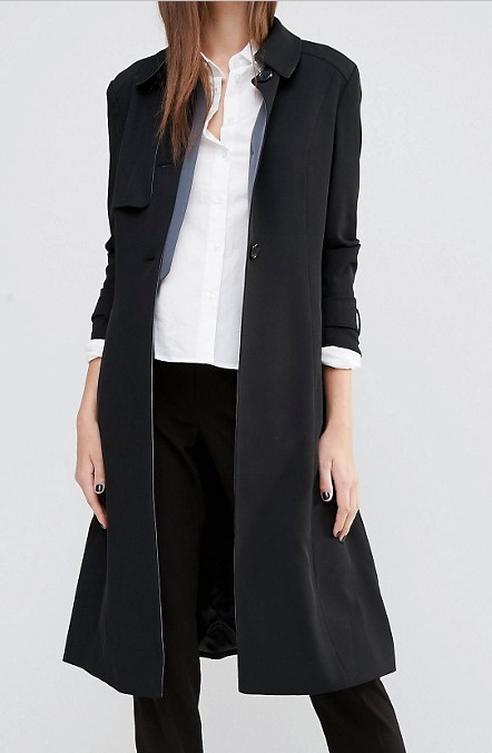 Sisley Tailored Trench Coat