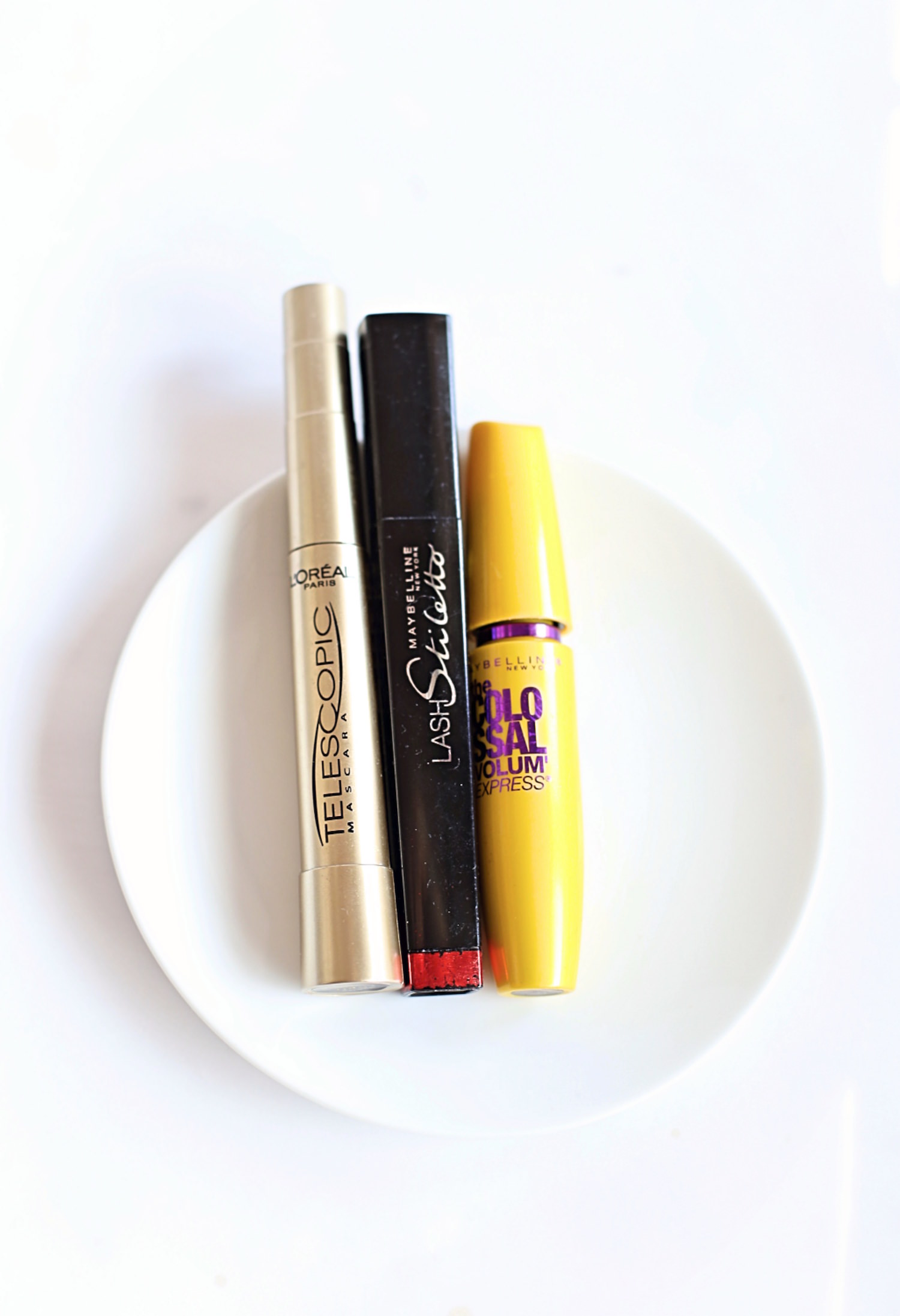 My Favorite Drugstore Makeup Products - Maybelline and Loreal Mascara | TrufflesandTrends.com